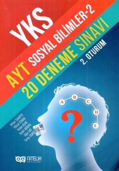 Nitelik Yayınları YKS 2. Oturum AYT Sosyal Bilimler 2 20 Deneme Sınavı
