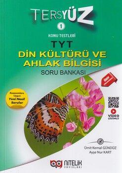 Nitelik Yayınları TYT Din Kültürü ve Ahlak Bilgisi Tersyüz Soru Bankası