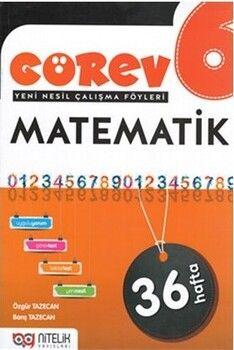 Nitelik Yayınları 6. Sınıf Matematik Görev Yeni Nesil Çalışma Föyleri