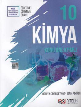 Nitelik Yayınları 10. Sınıf Kimya Konu Anlatımlı