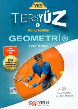 Nitelik Yayınları YKS Geometri A Tersyüz Konu Testleri Soru Bankası