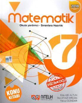 Nitelik Yayınları 7. Sınıf Matematik Konu Kitabı