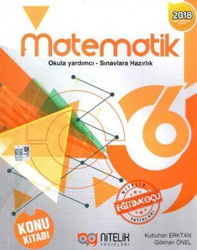 Nitelik Yayınları 6. Sınıf Matematik Konu Kitabı
