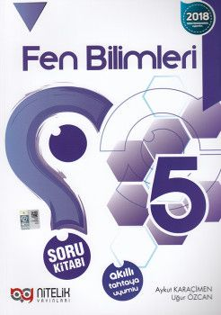 Nitelik Yayınları 5. Sınıf Fen Bilimleri Soru Kitabı