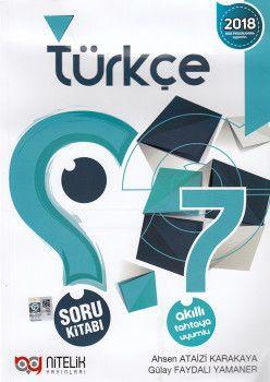 Nitelik Yayınları 7. Sınıf Türkçe Soru Kitabı