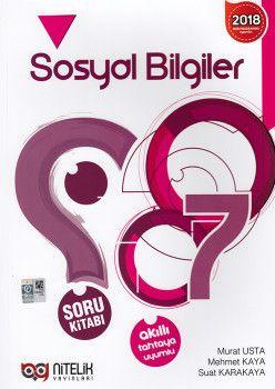 Nitelik Yayınları 7. Sınıf Sosyal Bilgiler Soru Kitabı