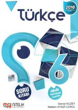 Nitelik Yayınları 6. Sınıf Türkçe Soru Kitabı
