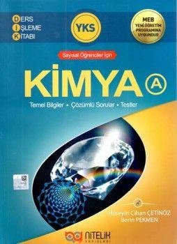 Nitelik Yayınları YKS Kimya A Ders İşleme Kitabı