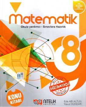 Nitelik Yayınları 8. Sınıf Matematik Konu Kitabı