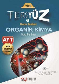 Nitelik Yayınları AYT Tersyüz Organik Kimya Soru Bankası