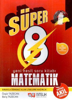 Nitelik Yayınları 8. Sınıf Matematik Süper Soru Kitabı