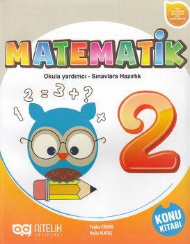Nitelik Yayınları 2. Sınıf Matematik Konu Kitabı