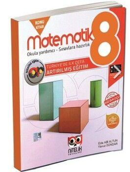 Nitelik Yayınları 8. Sınıf LGS Matematik Artırılmış Konu Kitabı