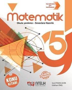 Nitelik Yayınları 5. Sınıf Matematik Konu Kitabı