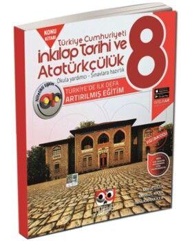 Nitelik Yayınları 8. Sınıf LGS İnkilap Tarihi ve Atatürkçülük Artırılmış Konu Kitabı