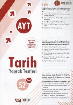 Nitelik Yayınları AYT Tarih Çek Kopart Yaprak Test