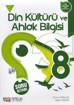 Nitelik Yayınları 8. Sınıf Din Kültürü ve Ahlak Bilgisi Soru Kitabı