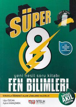 Nitelik Yayınları 8. Sınıf Süper Fen Bilimleri Soru Kitabı