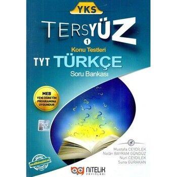 Nitelik Yayınları YKS 1.Oturum TYT Türkçe Tersyüz Konu Testleri Tekrar Testleri Soru Bankası