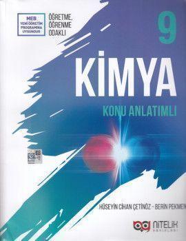 Nitelik Yayınları 9. Sınıf Kimya Konu Anlatımlı