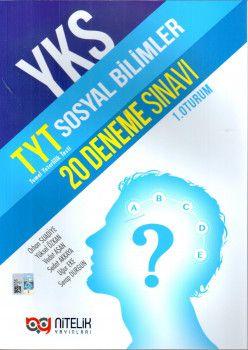 Nitelik Yayınları TYT Sosyal Bilimler 20 Deneme Sınavı