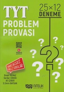 Nitelik Yayınları TYT Problem Provası 25x12Deneme
