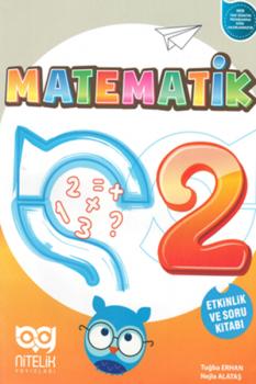 Nitelik Yayınları 2. Sınıf Matematik Etkinlik ve Soru Kitabı