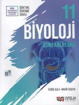 Nitelik Yayınları 11. Sınıf Biyoloji Konu Anlatımlı