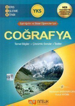 Nitelik Yayınları YKS Coğrafya Ders İşleme Kitabı