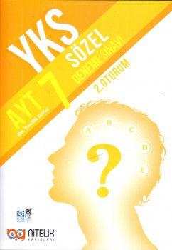 Nitelik Yayınları AYT 7 Sözel Deneme Sınavı