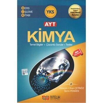 Nitelik Yayınları AYT Kimya Ders İşleme Kitabı