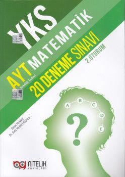 Nitelik Yayınları AYT Matematik 20 Deneme Sınavı