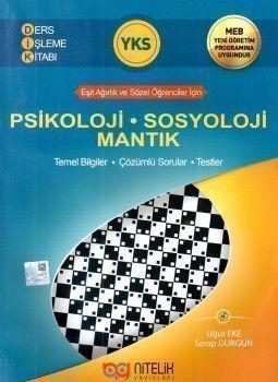 Nitelik Yayınları YKS Psikoloji Sosyoloji Mantık Ders İşleme Kitabı