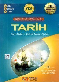 Nitelik Yayınları YKS Tarih Ders İşleme Kitabı