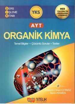 Nitelik Yayınları AYT Organik Kimya Ders İşleme Kitabı