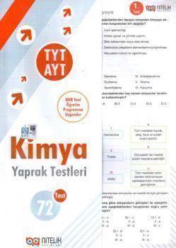 Nitelik Yayınları TYT AYT Kimya Yaprak Testleri
