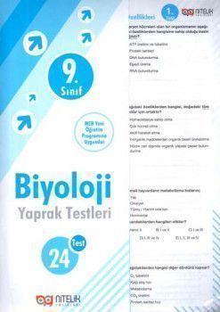 Nitelik Yayınları 9. Sınıf Biyoloji Yaprak Test