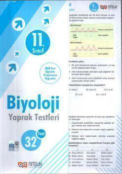 Nitelik Yayınları 11. Sınıf Biyoloji Yaprak Test