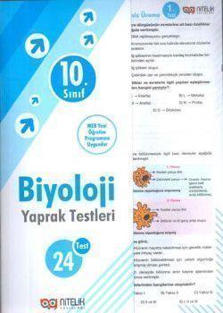 Nitelik Yayınları 10. Sınıf Biyoloji Yaprak Test