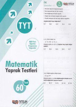 Nitelik Yayınları TYT Matematik 60 Yaprak Test