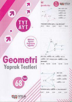 Nitelik Yayınları TYT AYT Geometri 68 Yaprak Test