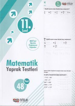 Nitelik Yayınları 11. Sınıf Matematik 48 Yaprak Test