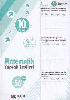 Nitelik Yayınları 10. Sınıf Matematik 56 Yaprak Test