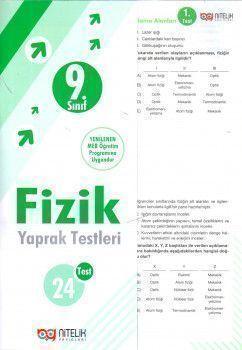 Nitelik Yayınları 9. Sınıf Fizik Yaprak Testleri