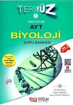 Nitelik YayınlarıAYT Biyoloji Tersyüz Soru Bankası