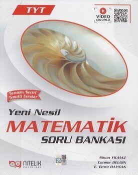 Nitelik YayınlarıTYT Matematik Yeni Nesil Soru Bankası