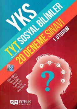 Nitelik Yayınların YKS 1. Oturum TYT Sosyal Bilimler 20 Deneme Sınavı
