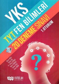 Nitelik Yayınların YKS 1. Oturum TYT Fen Bilimleri 20 Deneme Sınavı