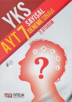 Nitelik YKS 2. Oturum AYT Sayısal 7 Deneme Sınavı
