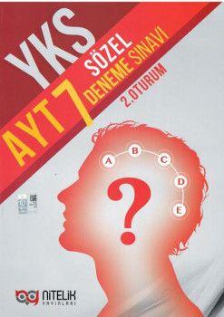 Nitelik YKS 2. Oturum AYT Sözel 7 Deneme Sınavı
